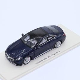 SPARK 1.43 Mercedes Benz AMG ( C217 ) S63 coupe blue ( S4918 )