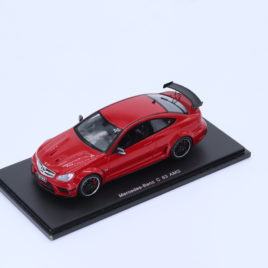 SPARK 1.43 Mercedes Benz AMG C63 black edition coupe red ( S1078 )