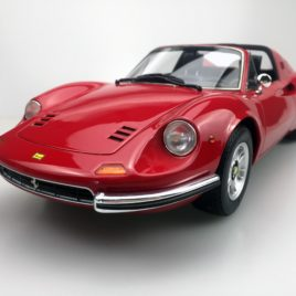 TOP MARQUES collectibles 1.12 1972 FERRARI 246 DINO GTS  red color ( TM12-02G )