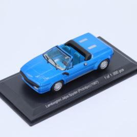 WHITEBOX 1.43 LAMBORGHINI Jalpa Spyder ( prototype ) 1987  blue color