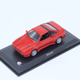 WHITEBOX 1.43 MASERATI SHAMAL  red color with black interior