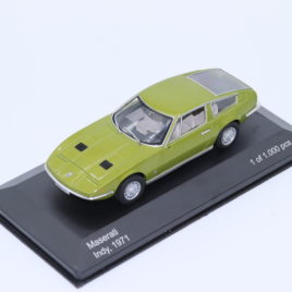 WHITEBOX 1.43 MASERATI INDY 1971  olive green color