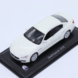 WHITEBOX 1.43 MASERATI Quattroporte GTS  white metallic