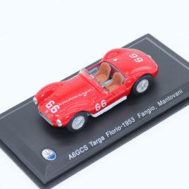 WHITEBOX 1.43 MASERATI A6-GCS 1953  Targa Florio 1953 # 66 car