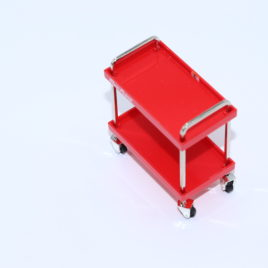 1.18 snap on workshop accessories parts trolley ( true scale minatures ) loose (no box)