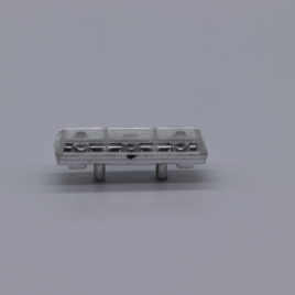 1.43 police light bar MX7000 style clear ( unpainted ) code 3