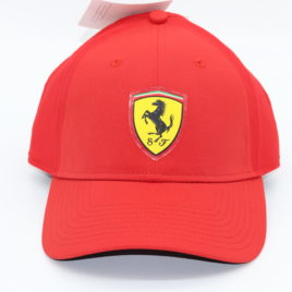 PUMA FERRARI fanwear convert cap rosso corso red adult size