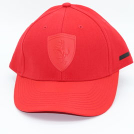 PUMA FERRARI LS mansion BB cap rosso corso red color