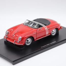 AUTOART 1.18 PORSCHE 356A SPEEDSTER  red color ( 77864 )