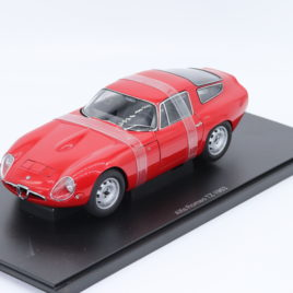 AUTOART 1.18 ALFA ROMEO GIULIA TZ 1963   red color ( 70196 )
