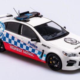 APEX 1.18 2013 HOLDEN HSV VF GTS NSW Police highway patrol ( AR81503 )