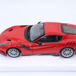 BBR 1.18 FERRARI F12 TDF Rosso Corsa 322 ( BBR182101 )