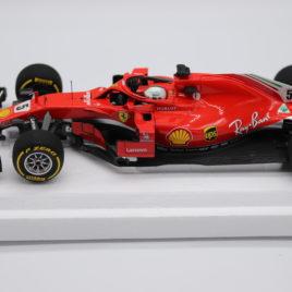 BBR 1.18 FERRARI SF71-H 2018 AUSTRALIAN GRAND PRIX Winner Sebestain Vettel ( BBR181805 )