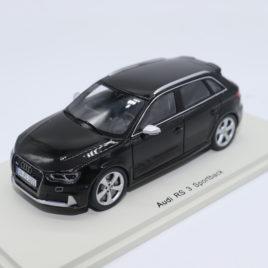 SPARK 1.43 AUDI RS3 Sportsback  Black color ( S4493 )