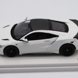 TSM MODELS 1.43 HONDA NSX 2017  White color RHD( TSM164388 )