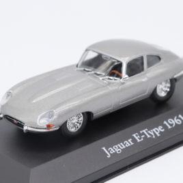 ATLAS 1.43 JAGUAR E-TYPE 1961  Silver color with black interior