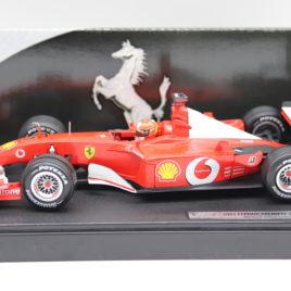 HOTWHEELS 1.18 F1 GP FERRARI 2002  Michael Schumacher ( 54643 )