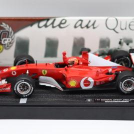 HOTWHEELS 1.18 F1 GP FERRARI 2002  150 Ferrari GP wins Canadian GP 09/06/2002  Michael schumacher ( 54646 )