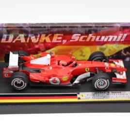 HOTWHEELS 1.18 F1 GP FERRARI 148 F1 2006  DANKE, SCHUMI German edition 30/07/2006 Hockenheim Germany Michael schumacher collection ( J2993 )