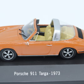 ATLAS 1.43 PORSCHE 911 TARGA 1973  Orange color with cream interior  ( 7114012 )