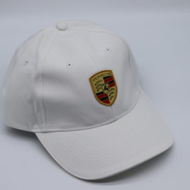 PORSCHE DRIVERS SELECTION baseball cap with Porsche Crest  White color ( WAP0800040C )