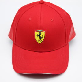 PUMA FERRARI SF Fanwear baseball cap red color with Ferrari Scuderia  Ferrari official licensed