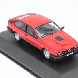 WHITEBOX 1.43 ALFA ROMEO GTV6 1985  Red color ( WB154 )