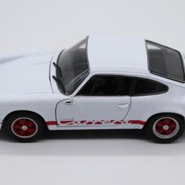 WELLY 1.18 PORSCHE 911 CARRERA RS 2.7 1974 White color ( 18044W )