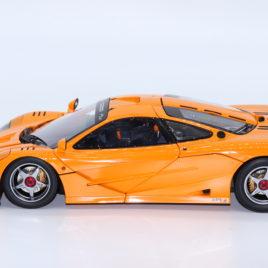 1.18 TSM MODEL McLAREN F1 LM-XP1 Experimental Prototype 1995 Orange color ( TSM131806 )