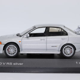 WHITEBOX 1.43 MITSUBISHI EVO V 6 RS  Silver color