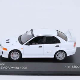 WHITEBOX 1.43 MITSUBISHI EVO V 6   White color