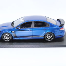 APEX REPLICAS 1.18 FORD FG FPV GT R-SPEC  Kinetic blue color with black accents