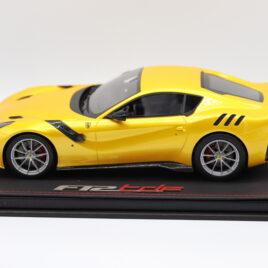 BBR 1.18 FERRARI F12 TDF  Giallo Tristrato color  only 199 pieces worldwide  ( P18121AV )