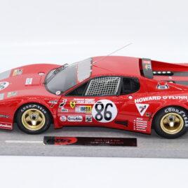 BBR 1.18 FERRARI 365 GT4 BB  1978 Le MANS race car number 86  ( BBRC1813E )