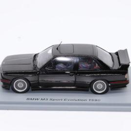 SPARK 1.43 BMW M3 SPORT EVOLUTION 1990  Black colour  ( S8001 )