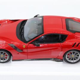 BBR 1.18 FERRARI F12 TDF  Red colour with black interior Rosso Corsa 322 ( BBR182101 )
