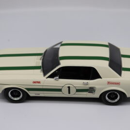 APEX REPLICAS 1.18 FORD MUSTANG GTA  1968 Australian Touring Car championship  ( AC8003 )