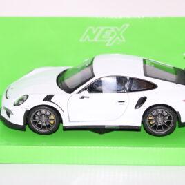 WELLY 1.24 Porsche 911 GT3 RS 4.0  White colour