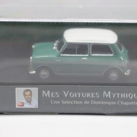 ATLAS MODELS 1.43 Austin Mini Cooper 1961  Green / white colour  ( 2891020 )